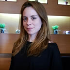 MARIA PAPADAKIS - SUPERVISOR OF FLOWER OF MONEMVASIA HOTEL